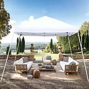 Blissun 10and039 X 10and039 Outdoor Pop-up Slant Leg Canopy Folding Tent Portable Pergola