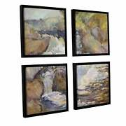 John Henry Twachtman's 'the Cascade, C.1889' 4 Piece Floater Extra Large