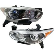 260103ja0a, 260603ja0a New Driver And Passenger Side Hid/xenon Lh Rh For Jx35 Qx60
