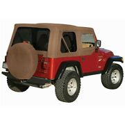 99517 Rt10337t Rt Off-road New Soft Top Tan For Jeep Wrangler 1997-2006