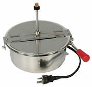 4082 8 Ounce Replacement Popcorn Kettle For Great Northern Popcorn Popperssilver