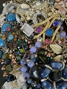 Jewelry Vintage-modern Huge Lot Craft Junk Wearable Over One Full Pound