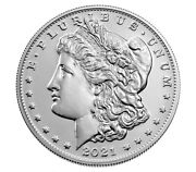 Confirmed Pair Of Morgan 2021 Silver Dollar With Cc And O Privy Mark - 2 Coins