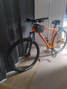 Brand New Cannondale Mountain Bike With Lots Of Accessories.