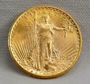 Nice 1924 20 St Gaudens Double Eagle Gold Coin Free Shipping