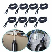 Thickness Double Braided Fender Line Marine Mooring Line For Yacht Boat