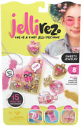 Jelli Rez Sweets Jewelry Pack - Quick Easy Diy Resin Inspired Craft Activity K
