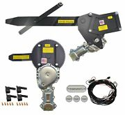 1959-1960 Convertible Front And Rear Power Window Kit With Ftfg Switches For Door