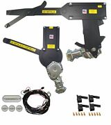 1958 Impala 2dr H-top Front And Rear Power Window Kit With Ftfg Switches For Door