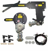 1958 Convertible Front Door And Rear Power Window Kit With Ftfg Switches For Door