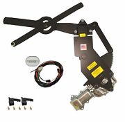 1947-1950 Chevy Truck Front Door Power Window Kit With Ftfg Switches For Console