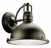 Hatteras Bay - 1 Light X-large Outdoor Wall Lantern - With Vintage Industrial