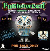 Signed Gabriel Fluffy Iglesias Exclusive Funko Pop Day Of The Dead Le 4000