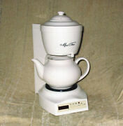 Mr. Coffee Mrs. Tea Hot Tea Maker With Programmable Timer And Digital Clock Htmx20