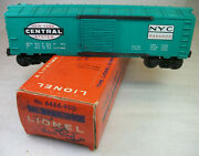 Lionel Postwar 6464-900 Early Glossy Nyc Box Car C-8 Ln Overstamped Perf Or Box