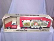 Original Nylint Circus Wagon No. 4140 Nos Factory Sealed 70s Minty Best Example