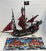 Lego Pirates Of The Caribbean Queen Anne's Revenge 4195 Complete+instructions
