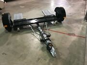 2020 Roadmaster Tow Dolly Rm3477, Electric Brake, Straps, Spare Tire And Carrier