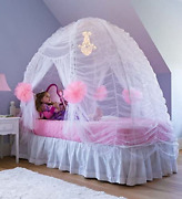 Hearthsong Kid's Fairy Tale Princess Twin Sized Bed Tent Canopy