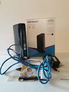 Netgear N750 Wifi Dual Band Gigabit Router 300+450 Mbps Pre-owned