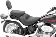 Mustang 79491 Vintage Sport Solo Seat With Backrest