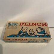 Vintage 1963 Flinch The Famous Card Game By Parker Brothers- Complete New Badbox