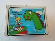 Vtg Rare White Vinyl Beany And Cecil Lunchbox No Thermos From 50's Bob Clampett