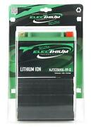 Battery Electhium For Quad Hytrack 600 Hy S 4x4 2011 To 2012 New