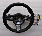 991.2 Pdk Multi Function New Style Blk Leather Gt Steering Wheel For 991.1 997.2
