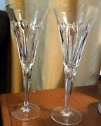 2waterford Crystal Millennium Collection Toasting Flutes Second Toast Love.