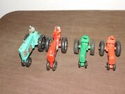 Vintage Made In Usa Farm Toy 4 Auburn Rubber Tractors 1 Is Arcor Toys