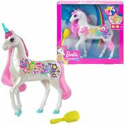 Barbie Dreamtopia Brush And039n Sparkle Unicorn With Lights And Sounds White With Pi