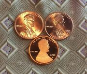 2010-p/d/s Lincoln Shield Cent's 3 Coin's  Itm034522