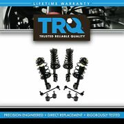 Trq 8pc Strut Spring Assembly And Sway Bar End Link Kit Set For Toyota Camry