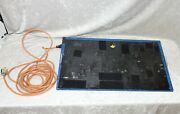 Guitar Effects Pedalboard Blue Snakeskin 26 X 15 With Extension Cord