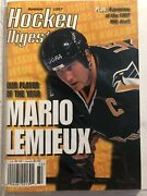 1997 Hockey Digest Pittsburgh Penguins Mario Lemieux No Label Player Of The Year