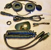 Honda Goldwing Motorcycle Intergrated Corded / Clampless Intercom Headset