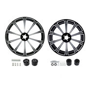 21 Front 18and039and039 Rear Wheel Rim W/ Disc Hub Fit For Harley Road Glide 08-21 2009