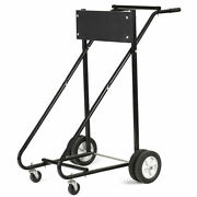 Ironmax 315 Lbs Outboard Boat Motor Stand Carrier Cart Dolly Storage Pro New