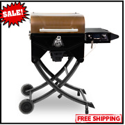 Pit Boss Portable Wood Pellet Grill Pit Stop Smoker With Foldable Legsnew