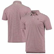 Mississippi State Bulldogs Southern Tide Driver Stripe Performance Polo - Maroon