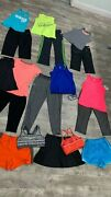 Womans Athl. Lot/18 Size Small Mix And Match Tops, Bottoms And Sports Bras Nike+more