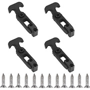 Creatyi 4 Pcs Rubber Flexible T-handle Draw Latches,for Tool Box,cooler, Golf Or