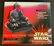 Vintage Intex Star Wars Episode 1 Darth Maul Inflatable Chair New Unused 6821
