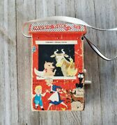 Vintage Fisher Price Farmer In The Dell Music Box Toy Barn Crank Handle 8 Usa