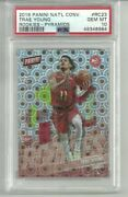 2019 Panini National Convention Trae Young Pyramids Rc /10 Psa 10 Pop 3 💫