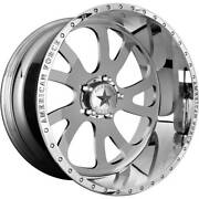 4-20x12 Polished Wheel American Force Afw74 Octane Ss 5x5 -33