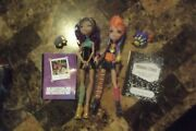 Monster High Wolf Sisters Clawdeen And Howleen Wolf Used