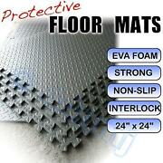 12mm Home Gym Shed Play Room Flooring Mats Dark Grey 608 Sq Ft