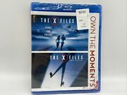 The X-files Fight The Future + I Want To Believe Blu-ray Double Feature